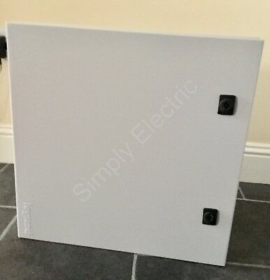 SALE LEGRAND ELECTRICAL CABINET 500x500x250 WEATHER PROOF METAL ENCLOSURE 39941