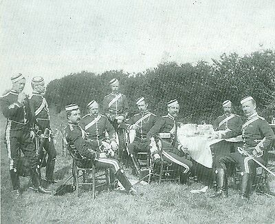 Militaria. Uniforms.Queen's Own West Kent Yeomanry. 1890