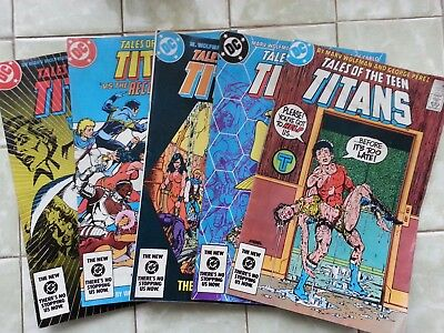 Tales of the New Teen Titans #'s 45 -49
