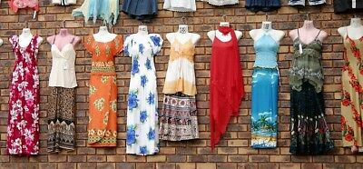 Women's Brand Name Dresses Sheath Shift Maxi Tunic Wholesale Lot of 10 Resale
