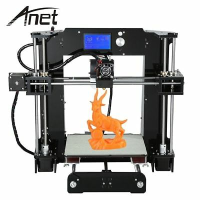 Anet A6 3D Desktop Printer Kit LCD Screen Display with TF Card Off-line Printing