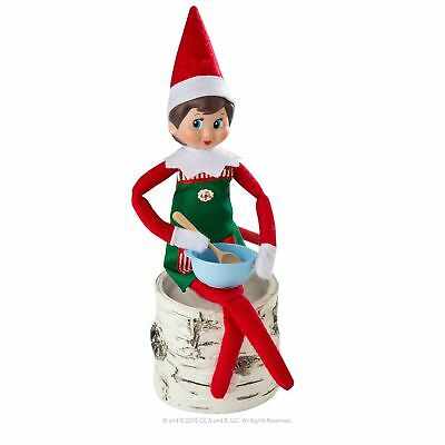 Red Hot Girl Elf on the Shelf New Christmas Day Kids Toys Claus Couture Novelty