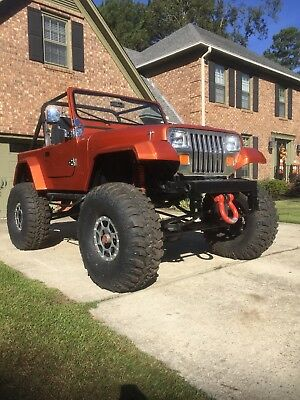 1987 Jeep Wrangler YJ 1987 Jeep Wrangler YJ CJ TJ Rock Crawler Monster Jeep Project Lifted 355 SBC !!!