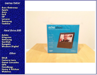 Amazon Echo Show with Alexa - Black, New, Sealed