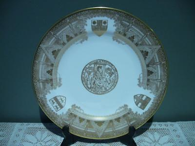Spode England Superb Westminster Abbey 900Th Anniversary Cabinet Plate - Vgc