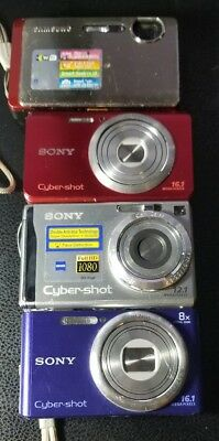 Lot of 3 sony digital cameras