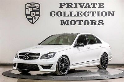 2013 Mercedes-Benz C-Class 4Matic Sedan 4-Door 2013 Mercedes-Benz C300 AMG Upgrades Clean Carfax Well Kept