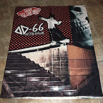 Vans Wall Hang Advertisement Dustin Dollin Dd66 Off The Wall Shoes Skate Banner
