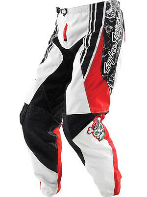 Troy Lee Designs GP Lucha YOUTH MX Off Road Pants Black/White/Red BOYS Sizes NEW