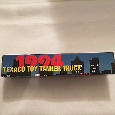 NEW 1994 Texaco Toy Tanker Truck 1st In Collectors Series