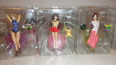 Love Hina LE Anime Manga 6 Figure NEW Naru Kaolla Shinobu US Seller RARE
