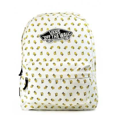 9a685cd344b NWT VANS X PEANUTS REALM BACKPACK School Book Bag WOODSTOCK Off The Wall  Limited
