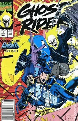 Ghost Rider (2nd Series) #5 1990 FN Stock Image