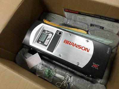 BRANSON DCX ULTRASONIC WELDING POWER SUPPLY - 240acSupply 800watt  80DCXs40VRT