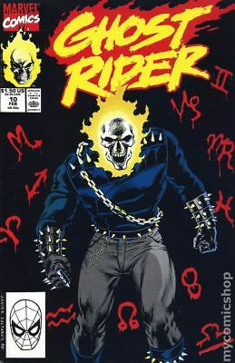 Ghost Rider (2nd Series) #10 1991 FN Stock Image