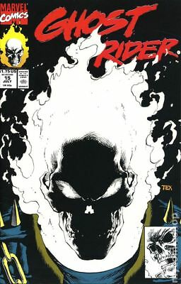 Ghost Rider (2nd Series) #15 1991 FN Stock Image