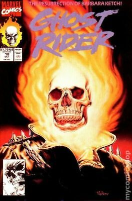 Ghost Rider (2nd Series) #18 1991 FN Stock Image