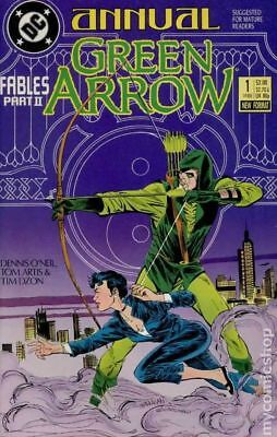 Green Arrow (1st Series) Annual #1 1988 FN Stock Image