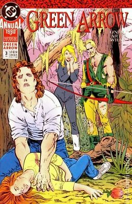 Green Arrow (1st Series) Annual #3 1990 VF Stock Image