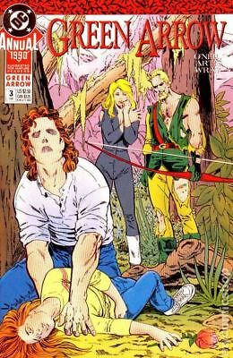 Green Arrow (1st Series) Annual #3 1990 FN Stock Image