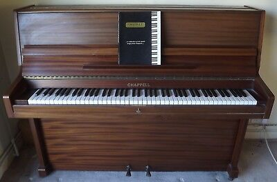 Modern Chappelll Upright Piano Cp44  Good Working Order