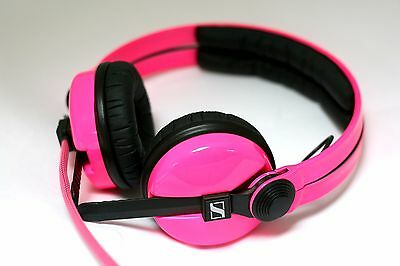 Custom Cans UV Pink Sennheiser HD25 2016 Headphones with 2yr warranty
