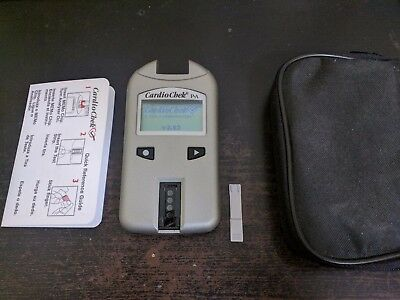 Cardiocheck Professional Analyser, Very Good Condition, Calibrated November 2016