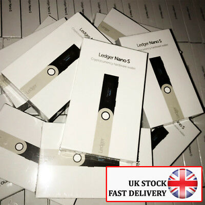 Lowest Price | Uk Stock | Ledger Nano S Cryptocurrency Hardware Wallet
