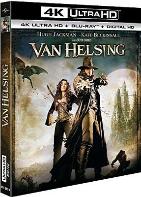 Blu-ray Van Helsing 4k Ultra Hd - Hugh Jackman,Kate Beckinsale,Stephen Sommers