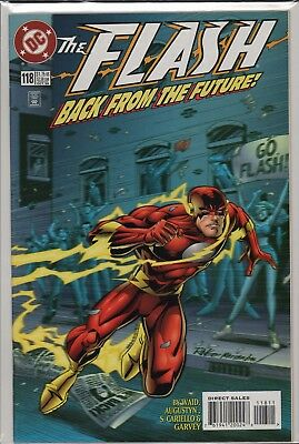 """Flash  #118 (1996) """"Back From The Future""""   A4.398"""