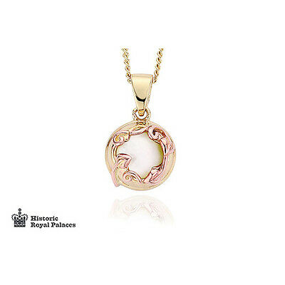 BRAND NEW Official Clogau Gold Yellow & Rose Gold Tudor Court Pendant £250 off!