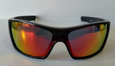 08da0521bf ... new style new oakley mens batwolf ruby iridium lens sunglasses 009101 38  black ink 56a60 0b3c7