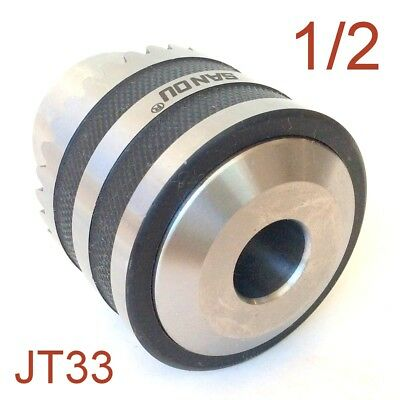 1 pc Key 1/32-1/2 Heavy Duty Drill Chuck With JT33 33JT Mount for CNC