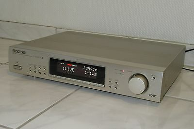 Pioneer F-504 RDS EON High End Tuner gold champagner