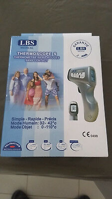 Thermomètre médical sans contact ThermoScope LBS NEUF