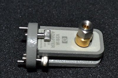 Agilent Keysight V281A WR15 Waveguide to 1.0mm(m) Adapter, GREAT Shape, 3 Avail