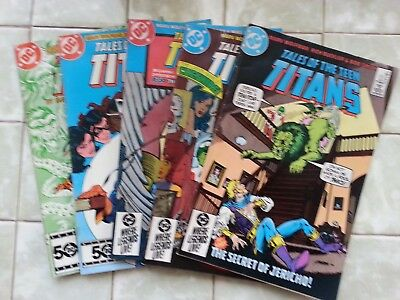 Tales of the Teen Titans #'s 51 - 55