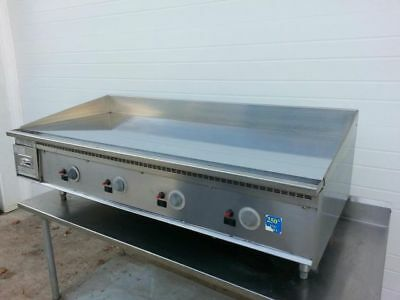 """KEATING 60"""" MIRACLEAN GAS GRILL GRIDDLE 60x30 THERMOSTATIC ****PRICE DROP****"""