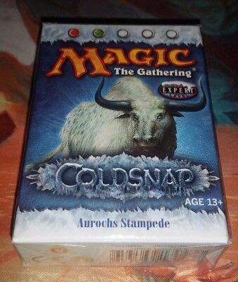 Coldsnap Theme Deck: Aurochs Stampede MTG Magic the Gathering New+Sealed
