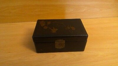 Antique Japanese lacquered box.