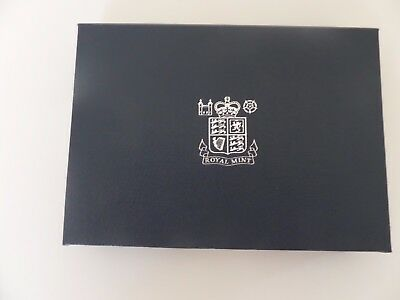 U.k British 1983 Proof 7 Coin Set 1/2 Penny 1 Pound  Cased By Royal Mint