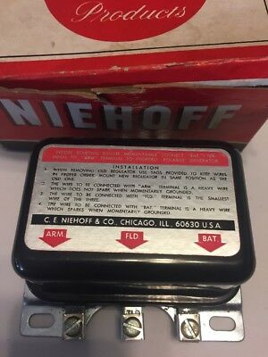 NIEHOFF Voltage Regulator 1956-1964 Ford/Mercury FF-150 New In Box