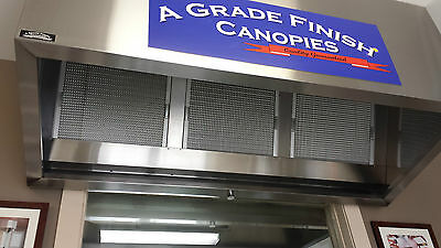 50mm THICK 495mm X 495mm COMMERCIAL HONEYCOMB FILTER FOR CANOPY / RANGEHOOD