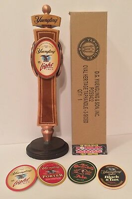 """Yuengling Heritage Interchangeable Beer Tap Handle 12"""" Tall - Brand New In Box!!"""