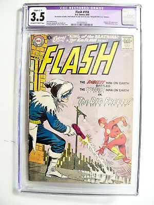 Flash #114 CGC 3.5 Restored - Slight (C-1)