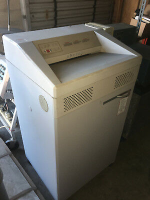 SEM Commercial Security 5140 CW Shredder with Model LK Automatic Oiler + 4 Oils