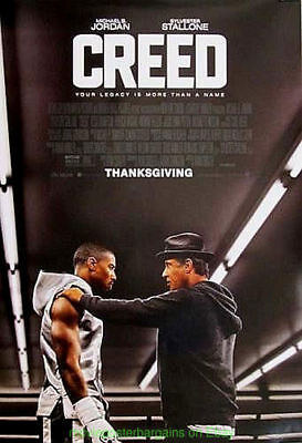CREED MOVIE POSTER Original DS Final Style 27x40 SYLVESTER STALLONE Is ROCKY !