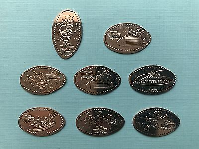 Space Mountain 8-Design Pressed Pennies WDW Magic Kingdom *NEW*