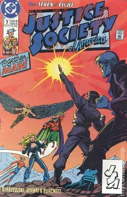 Justice Society of America (1st Series) #7 1991 FN Stock Image