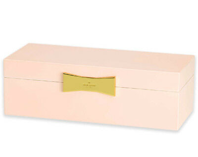123665ba2475b6 Kate Spade GARDEN DRIVE Rectangular Jewelry Box Pink Lacquer New Boxed